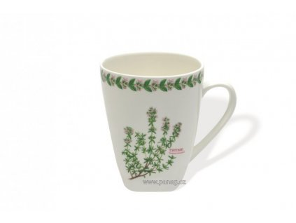 Porcelánový hrnek 380 ml Tymián - Fragrant garden  - Maxwell&Williams