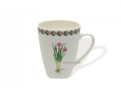 Porcelánový hrnek 380 ml Pažitka - Fragrant garden - Maxwell&Williams