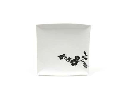 Porcelánový talíř čtvercový 30 - Cherry Blossom JC250006 - Maxwell&Williams