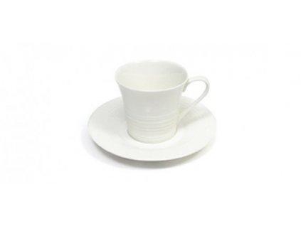 Porcelánový šálek s podšálkem 220 ml  Cappuccino - Cirque - Maxwell&Williams