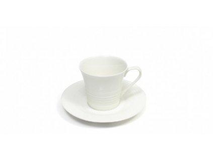 Porcelánový šálek s podšálkem Espresso - Cirque P448007 - Maxwell&Williams