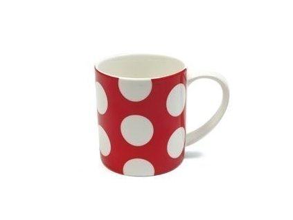 Porcelánový kávový hrnek puntíkovaný červený 360 ml - Polkadot  - Maxwell&Williams