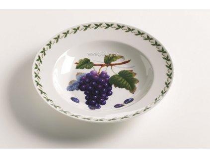 Porcelánový talíř na polévku 23 cm hroznové víno  - Orchard Fruits - Maxwell&Williams