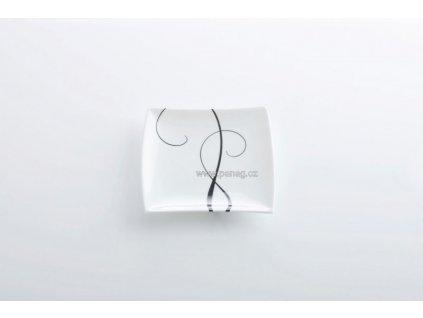 Porcelánový talíř čtvercový 13 cm - Breeze  - Maxwell&Williams