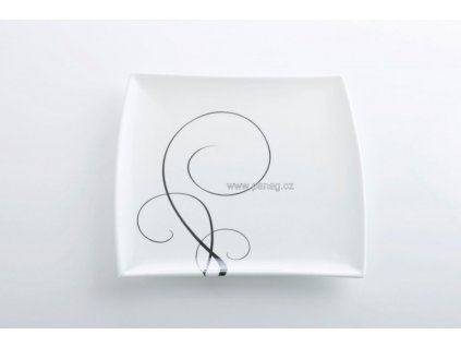 Porcelánový talíř na předkrm 23 cm - Breeze   - Maxwell&Williams