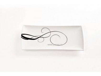 Porcelánový podnos obdélníkový 40x20 cm - Breeze -  Maxwell&Williams