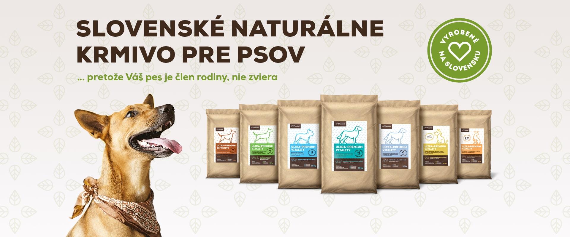 Panakei.sk - Slovenské, naturálne granule pre psov