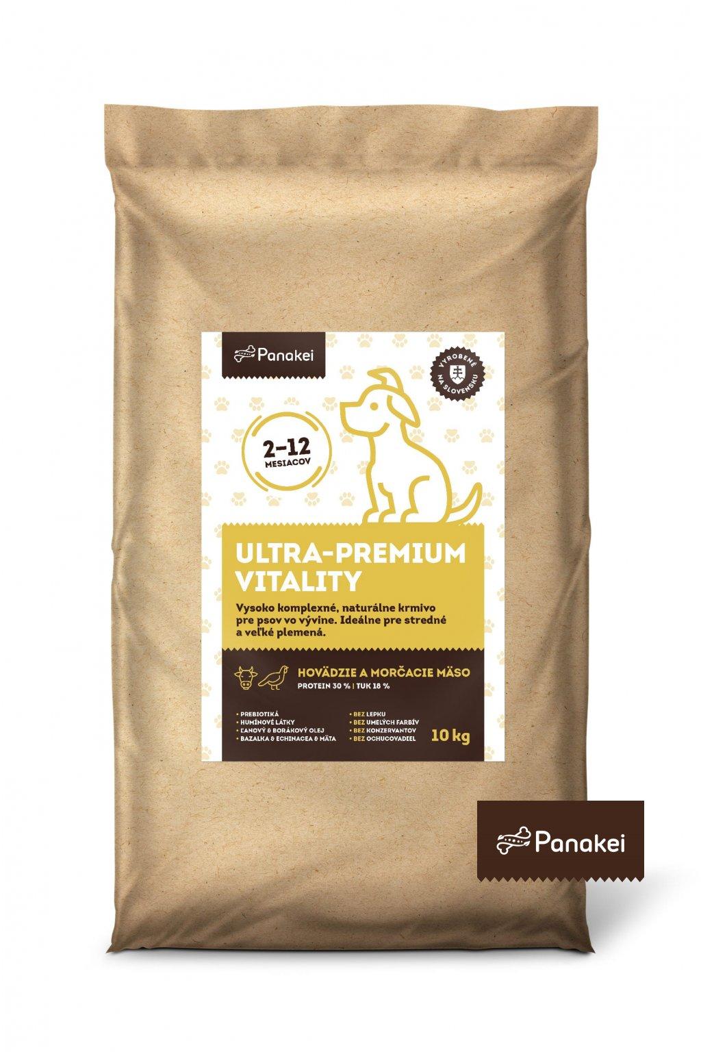 Pack2 ULTRAPREMIUM VITALITY stenata M+L+XL 10kg 2 min min