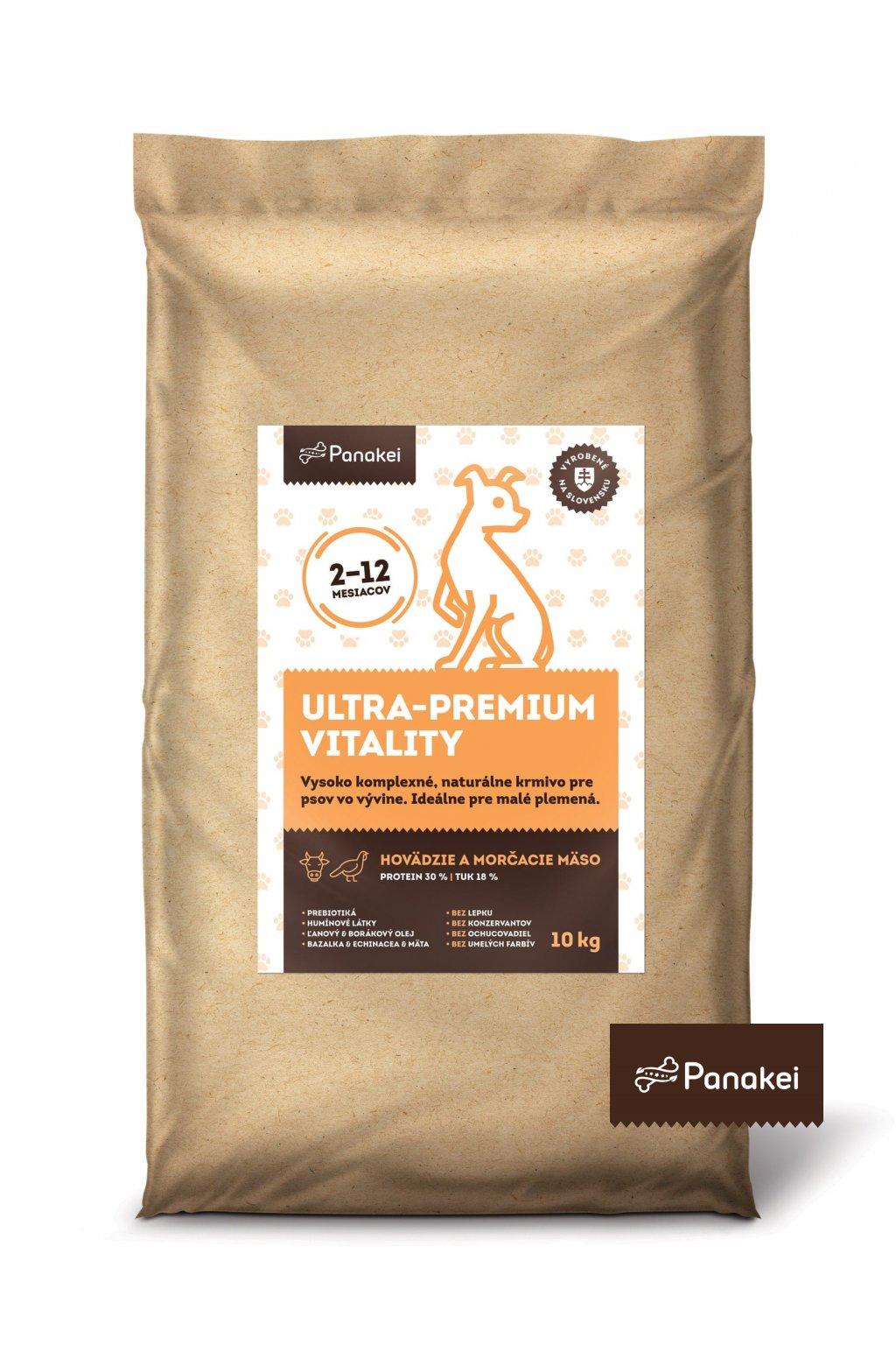 Pack2 ULTRAPREMIUM VITALITY stenata XS S 10kg 2 min min