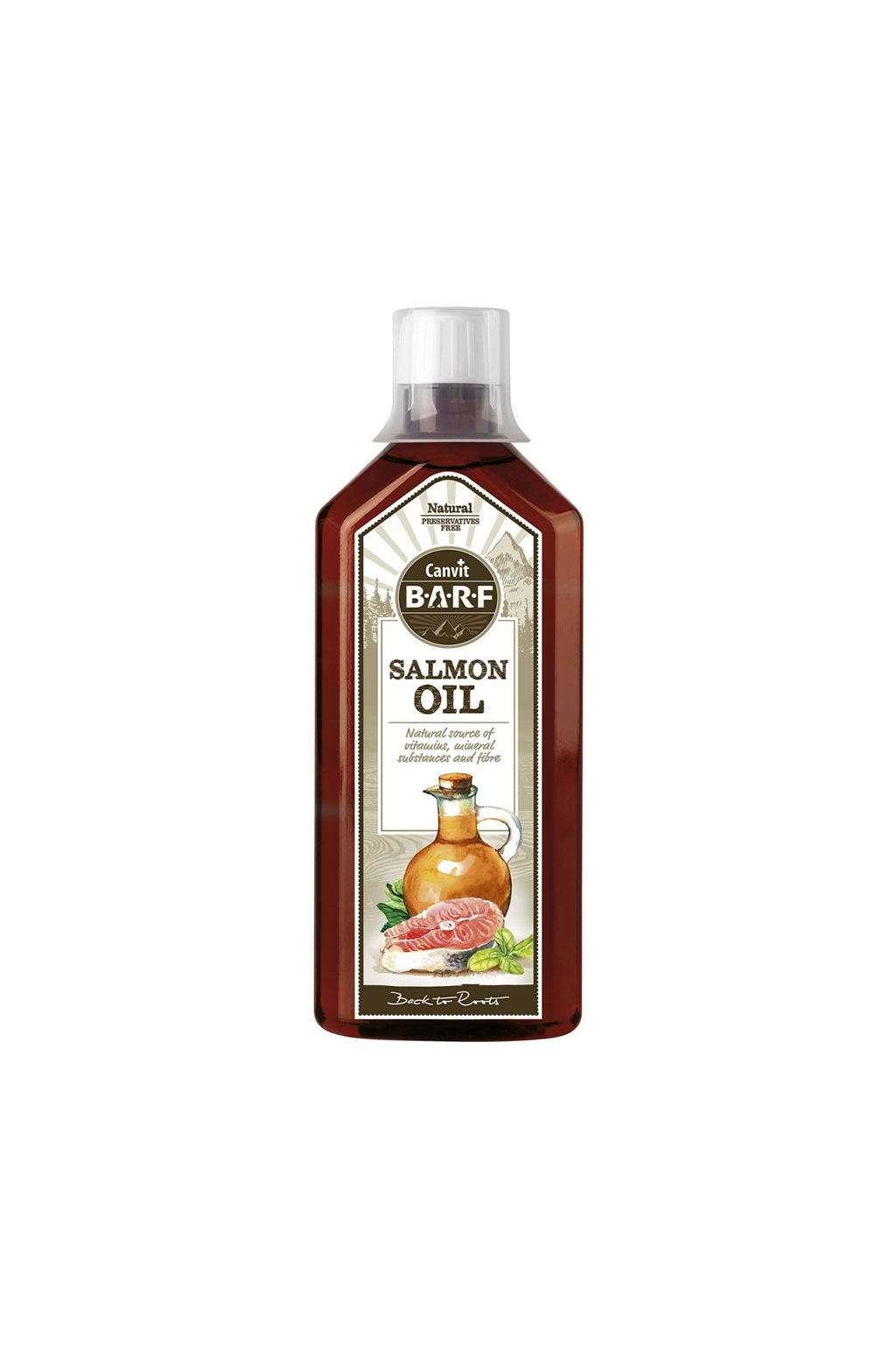 CB Salmon oil 500ml 3D