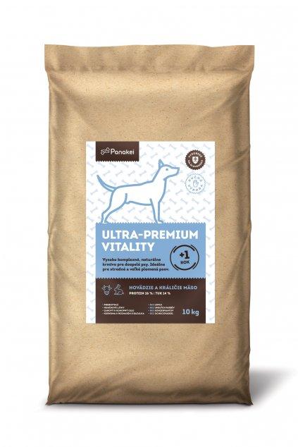 P 11 Pack2 ULTRAPREMIUM VITALITY Dospely pes M L XL Hovezi Kralik 10kg (1) min