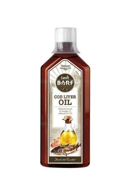 CB Cod Liver oil 500ml 3D