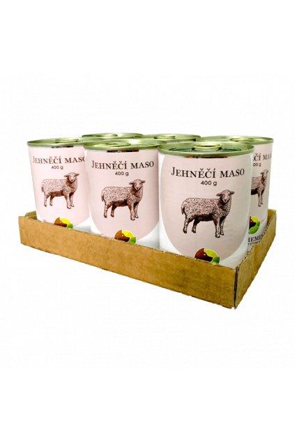 six pack bohemia jehneci maso ve vlastni stave 6x400 g
