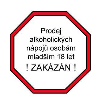 Zákaz prodeje alkoholu