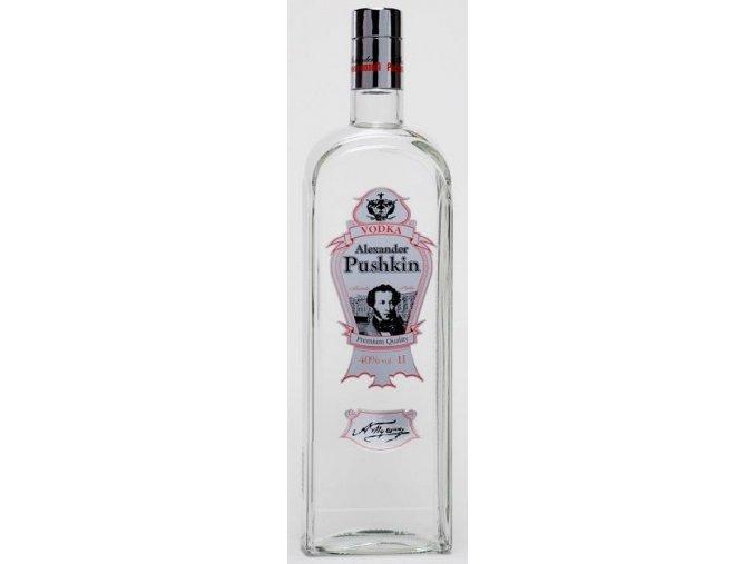 Vodka Alexander Pushkin 1l