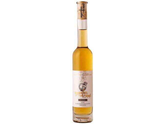Marhulove ovocne vino sladke 0,2l