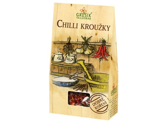 Chilly kroužky 7g