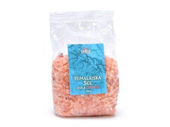 Himalajská sůl červená 600g