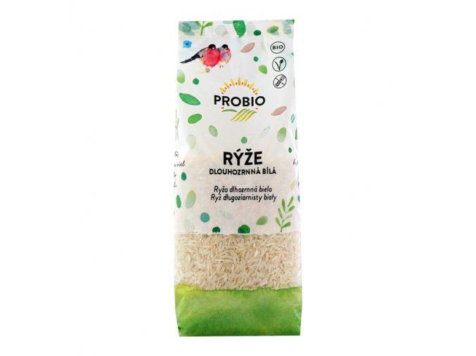 Rýže dlouhozrnná bílá BIO PROBIO 500 g
