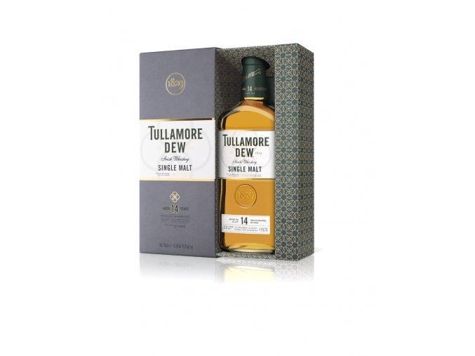 tullamore dew 14 yo single malt lahev v krabicce web