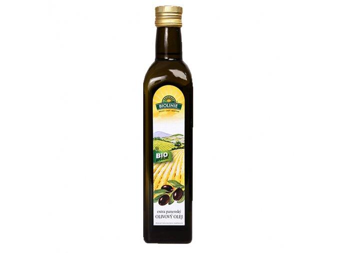 BIOLINIE Olej olivový BIO extra panenský 0,5 l