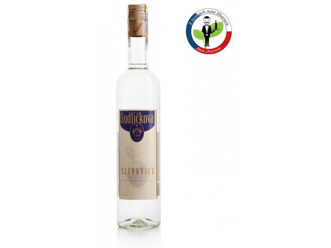 Sudličkova Slivovice 0,5l  50%