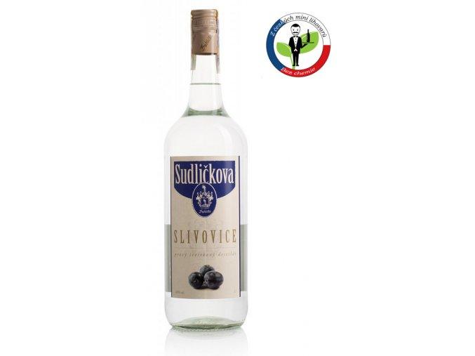 Sudličkova Slivovice 1,0l 40%