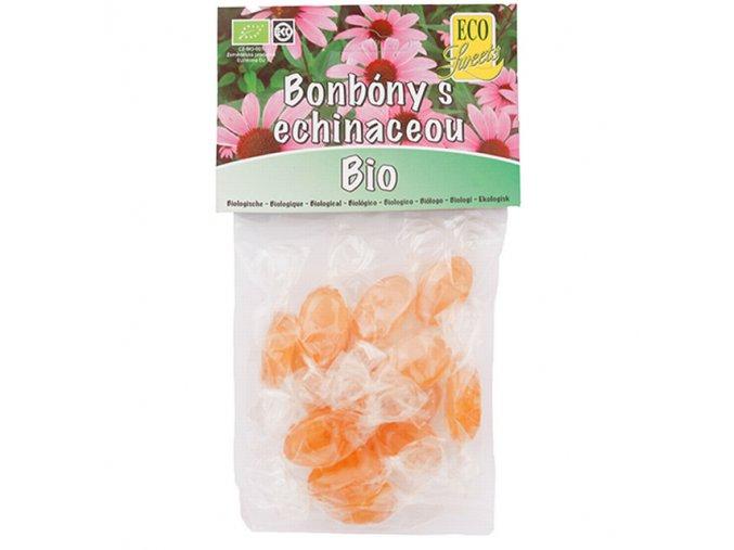 Bonbóny s echinaceou bez cukru BIO 75 g