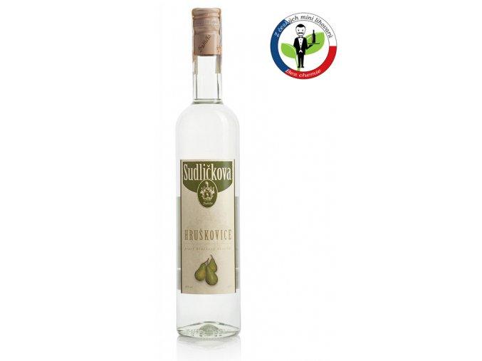 Sudličkova Hruškovice 0,5l 40%