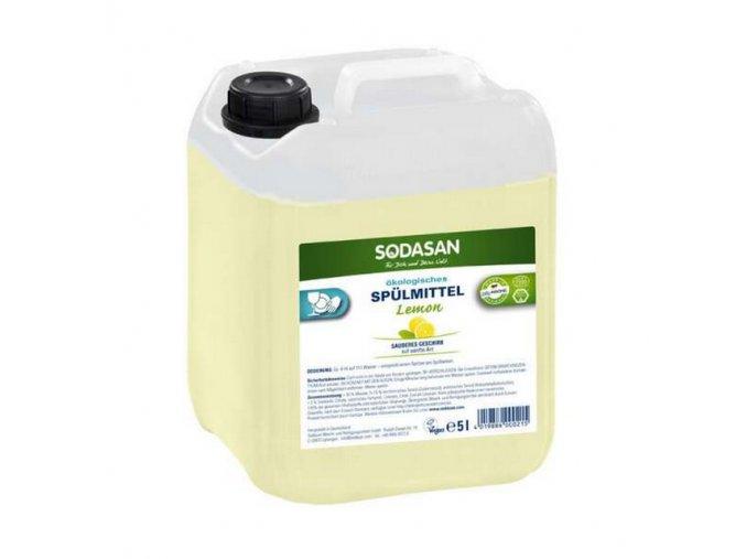 SODASAN  prostředek na nádobí citron BIO - 5 l