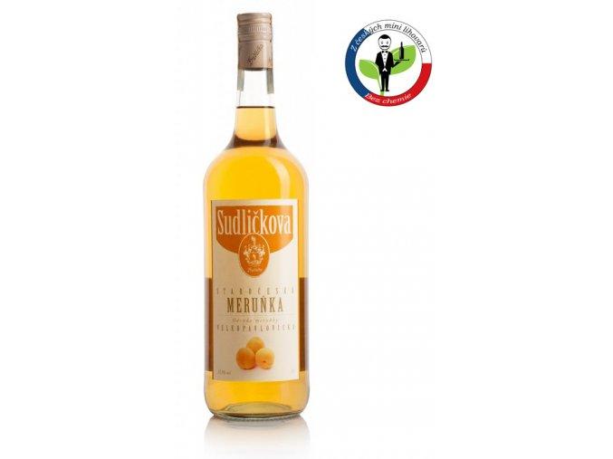 Sudličkova Staročeská Meruňka 1,0l 37,5%