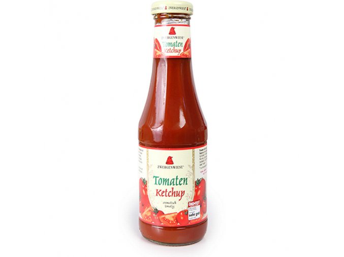 Kečup rajčatový ZWERGENWIESE BIO 500 ml