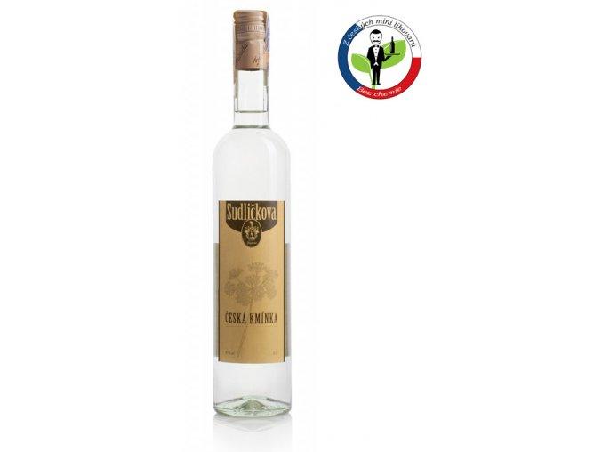 Sudličkova Česká Kmínka 0,5l 35%