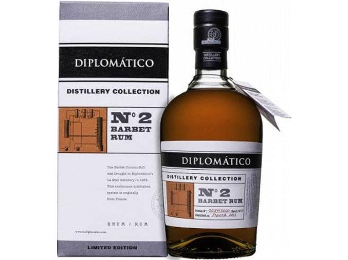 Diplomatico No. 2 Barbet Rum Distillery Collection 4y
