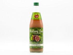 Ruzovy sen, ovocny napoj z jablek, hrusek, guave a soji