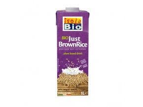 Rýžový nápoj z celozrnné rýže Isola BIO 1000 ml
