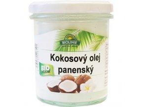 BIOLINIE kokosový olej panenský BIO 240 g