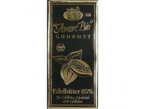 Hořká čokoláda 85% kakao Liebharts BIO 100 g