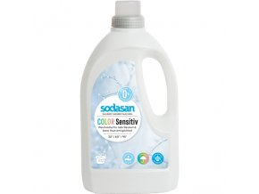 Sodasan BIO Color Sensitiv - tekutý gel na praní 1,5 l