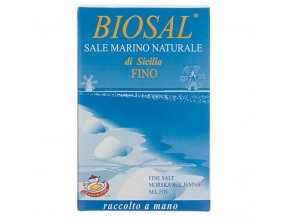 BIOSAL Mořská sůl jemná 1 kg