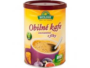 BIOLINIE instantní obilné kafe s fíky  BIO - 100 g