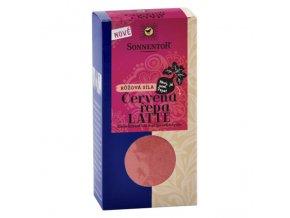 Červená řepa Latte bio směs koření k přípravě s horkým mlékem BIO 70 g