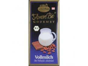 Mléčná čokoláda Liebharts BIO 100 g
