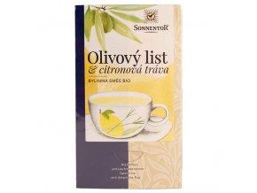 Čaj BIO - Olivový list a citronová tráva 18 x 1,8 g přebal