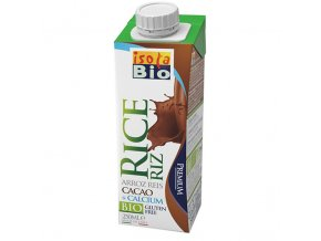 Rýžový nápoj s vápníkem a kakaem Isola BIO 250 ml