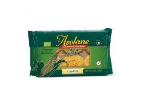 Těstoviny kukuřičné (bezlepkové) vlasové nudle capellini LE ASOLANE BIO 250 g