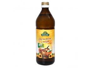 BIOLINIE Olej slunečnicový na pečení a smažení BIO 0,75 l