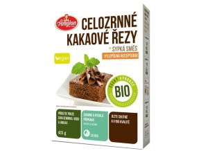 Celozrnné kakaové řezy sypká směs BIO 425 g