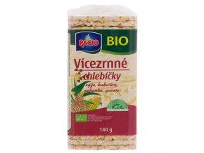 Vícezrnné chlebíčky RACIO BIO 140 g