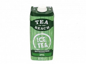 tea on the beach matcha jablko 0,5l